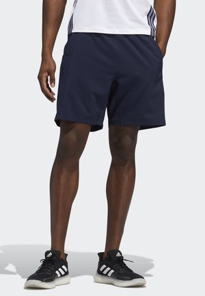 AEROREADY 3-STRIPES 8-INCH SHORTS - Träningsshorts - blue