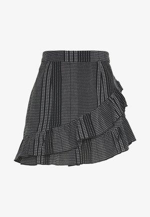 ONLNEW ATHENA SKIRT - A-line skirt - black/white