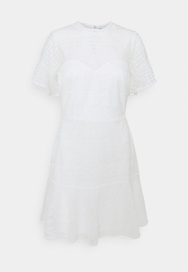 FLOUNCE DRESS - Robe de soirée - white