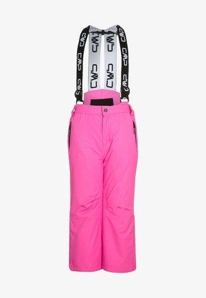 SALOPETTE UNISEX - Spodnie narciarskie - pink fluo