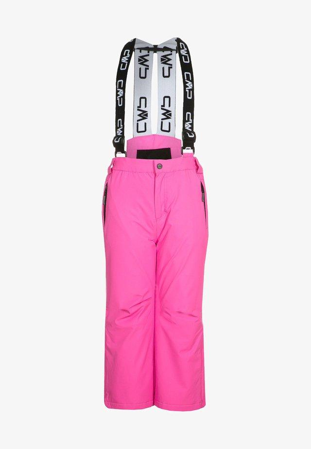 SALOPETTE UNISEX - Zimní kalhoty - pink fluo