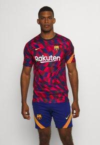 Nike Performance - FC BARCELONA  - Club wear - university red/amarillo - 0