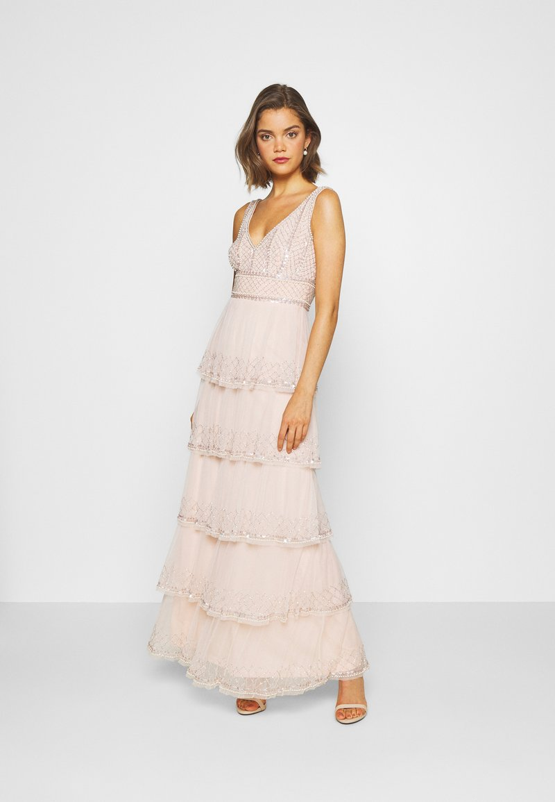 Lace & Beads - MULAN LISHKY - Occasion wear - nude