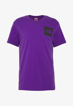Print T-shirt - hero purple