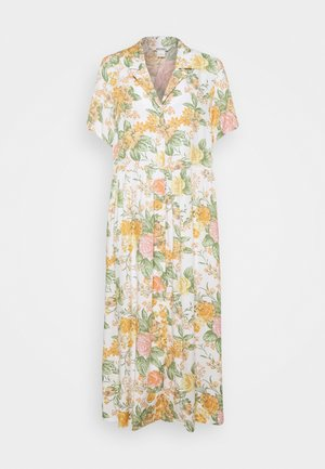 MATTAN DRESS - Skjortekjole - white dusty light rosegarden