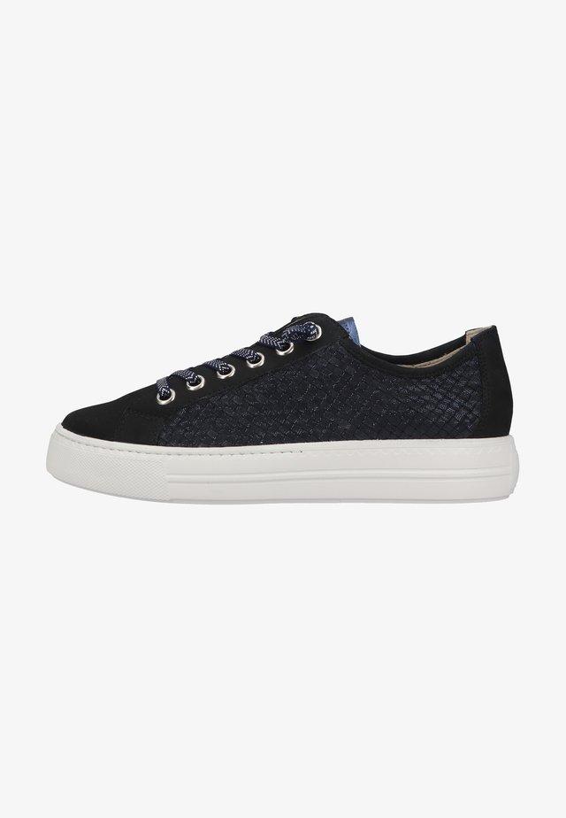 Sneakers - blau 018