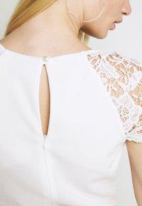 WAL G. - SABRIA MIDI DRESS - Cocktail dress / Party dress - white - 5