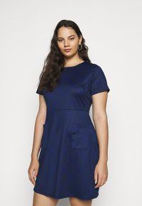 CAPSULE by Simply Be - POCKET SHIFT - Kjole - navy - 0
