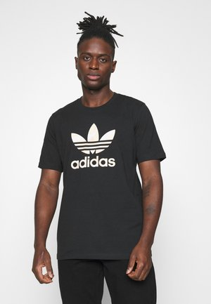 CAMO INFILL TEE UNISEX - T-shirt con stampa - black/alumina/multicolor