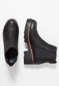 mtng - SAURO - Kotníková obuv - karma black - 3