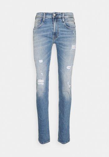 ANBASS - Jeansy Slim Fit - light blue
