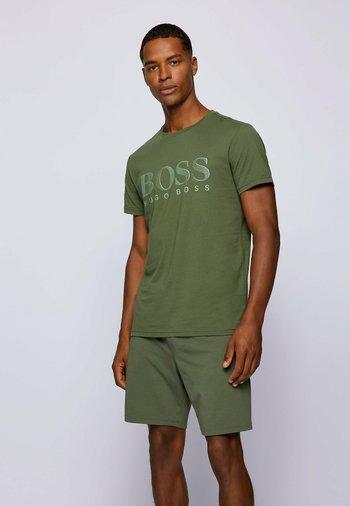 RN - Print T-shirt - open green