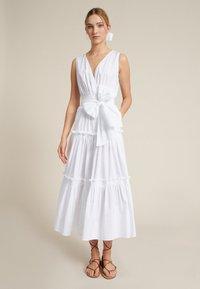 Luisa Spagnoli - PRODIGI - Day dress - bianco - 0
