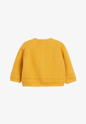 Cardigan - yellow