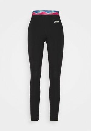PANTALONE PANTS - Collants - black