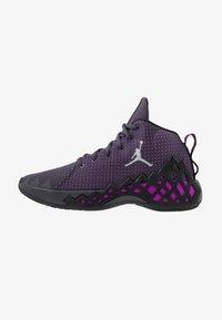 Jordan - JUMPMAN DIAMOND MID - Obuwie do koszykówki - gridiron/metallic silver/black/hyper violet - 0