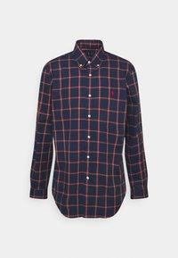 LONG SLEEVE SPORT SHIRT - Shirt - navy/red