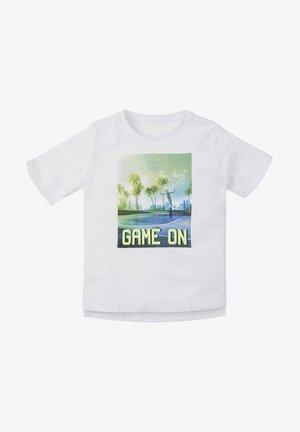 T-shirt print - kids bright white