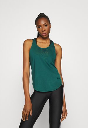 SPORT X BACK TANK - Sports shirt - saxon green