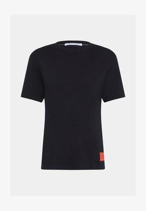 RELAXED BADGE TEE UNISEX - Print T-shirt - black