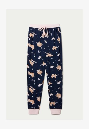 WONDERFUL - Pyjama bottoms - blue wake me up print