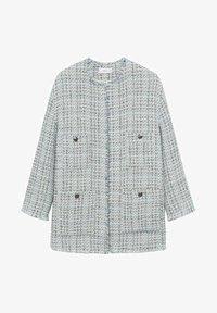 Mango - MIT TASCHEN - Summer jacket - himmelblau - 7