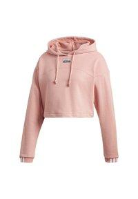 adidas Originals - R.Y.V. CROPPED HOODIE - Jersey con capucha - pink - 5