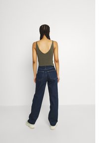 Gina Tricot - HIGH WAIST - Jeans relaxed fit - deep ocean - 2