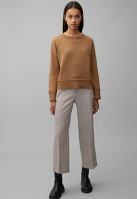 Marc O'Polo - MIT KAROMUSTER - Trousers - multi - 1