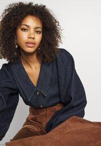 Dedicated - WORKWEAR PANTS VARA - Trousers - friar brown - 3