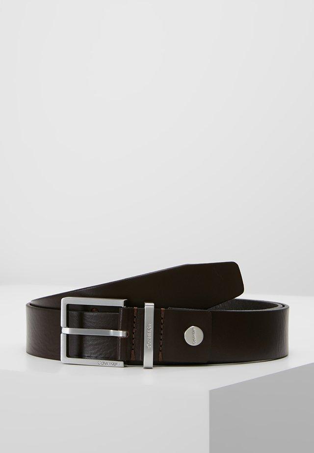 CASUAL BELT - Formální pásek - brown