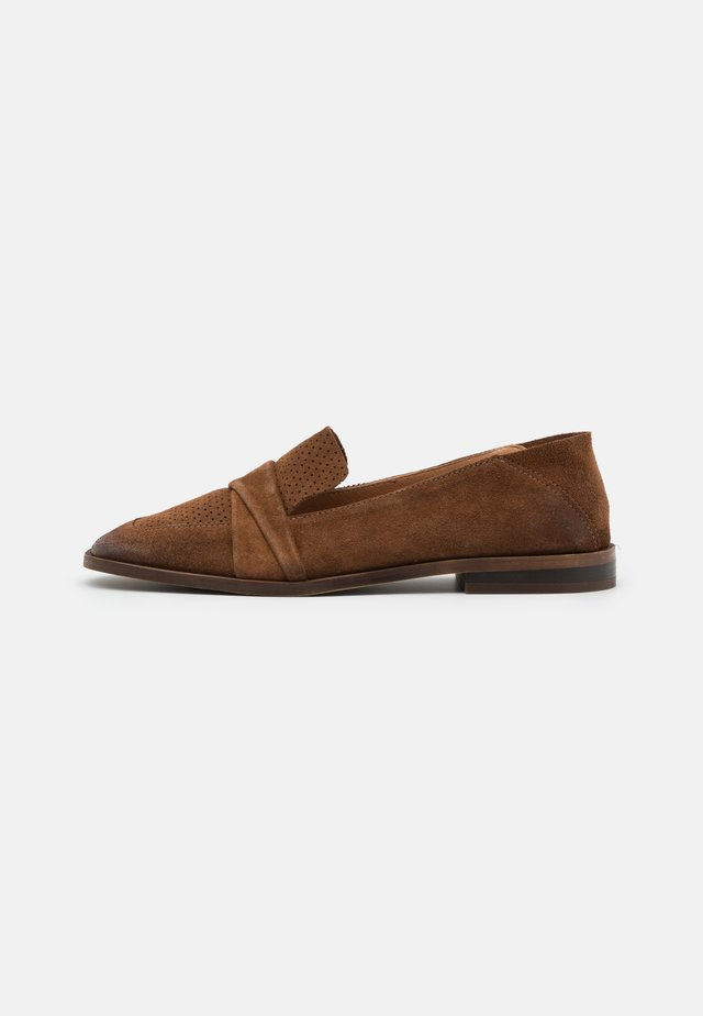 ANITA - Slippers - brown