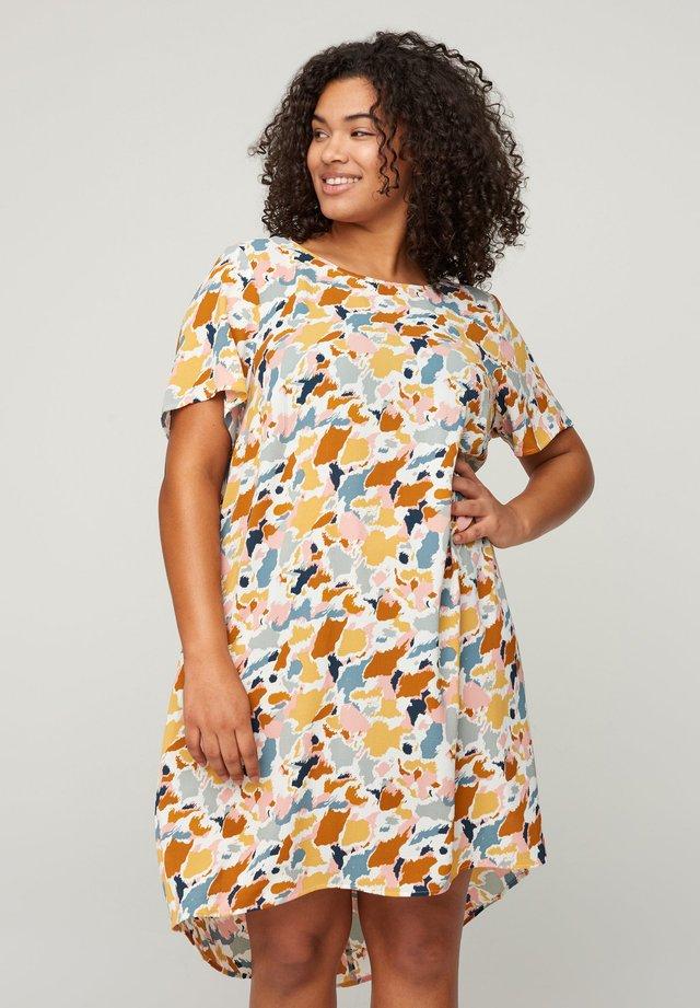 MIT KURZEN ÄRMELN - Sukienka letnia - multicolor aop