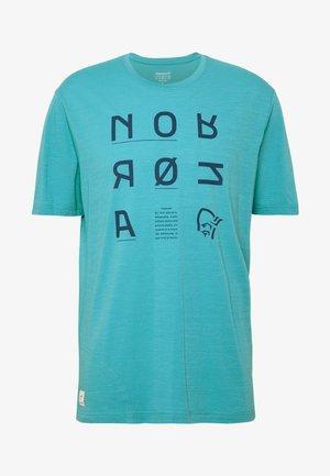 SVALBARD  - T-Shirt print - heritage blue