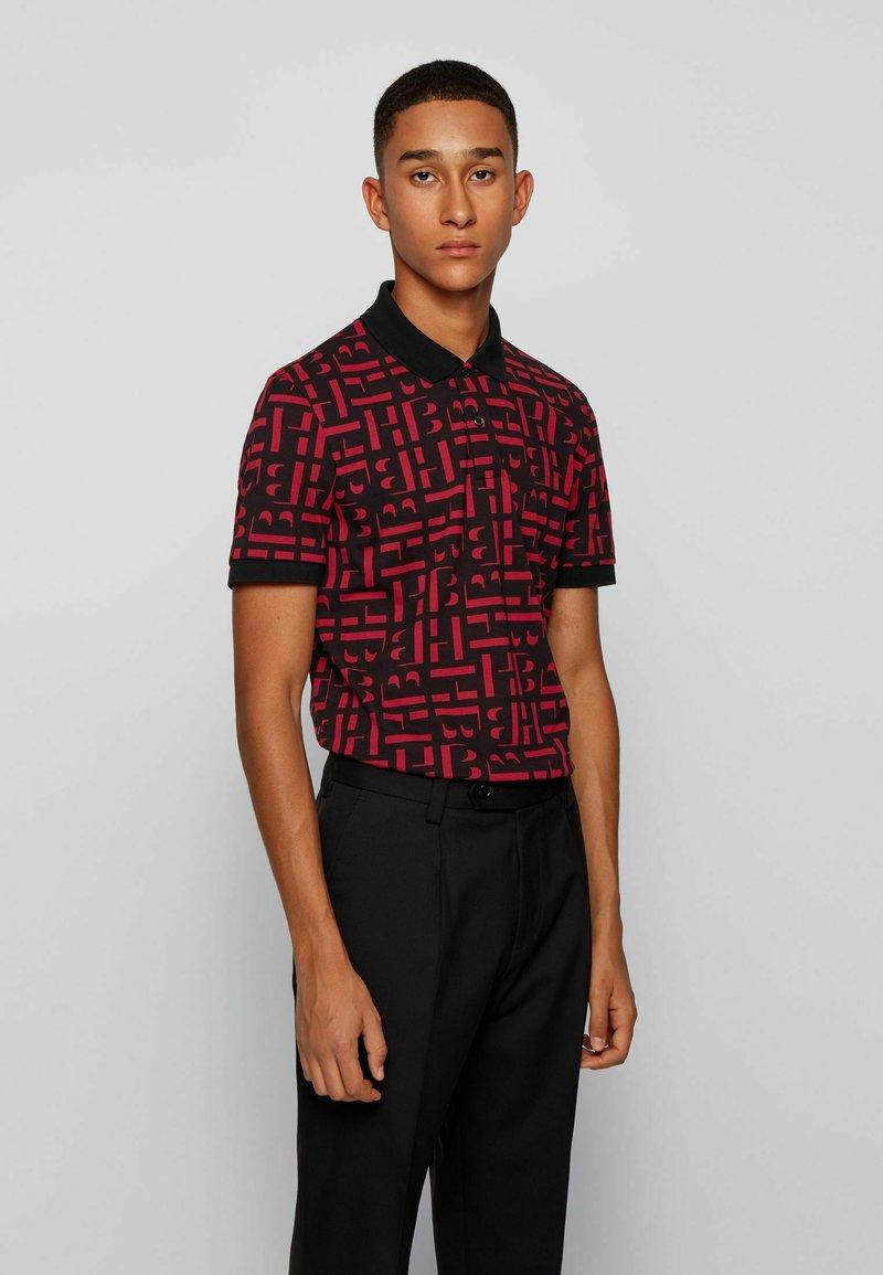 BOSS - PHILLIPSON - Print T-shirt - black