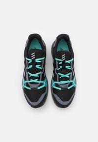 adidas Performance - TERREX LITESKY GORE-TEX - Hiking shoes - core black/halo silver/acid mint - 3