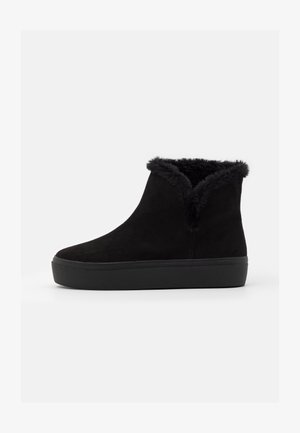 FLUFFY - Ankle boots - black
