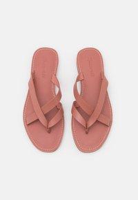 Madewell - BOARDWALK LIV  - T-bar sandals - rose dust - 5