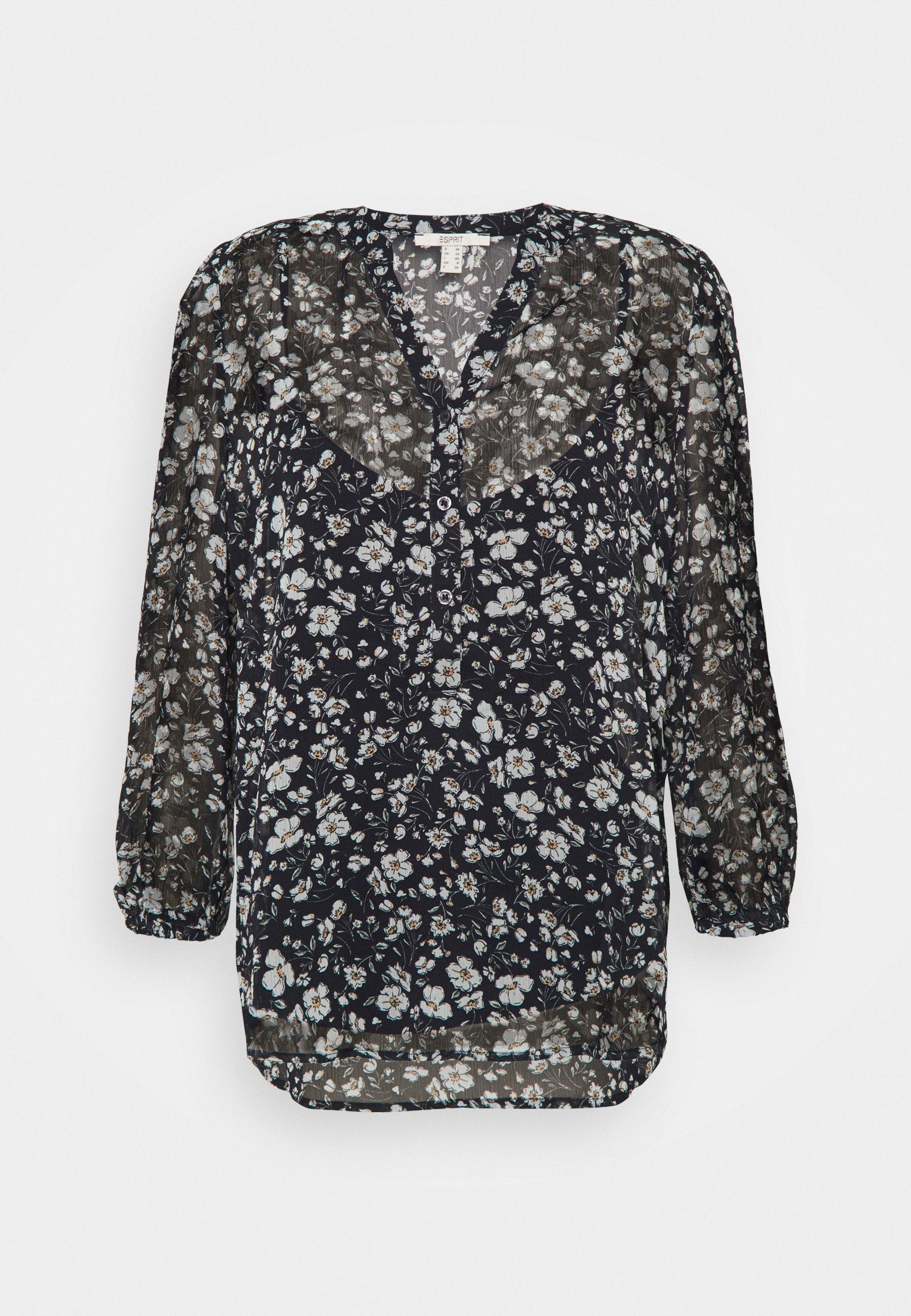Women CRINKLE - Long sleeved top