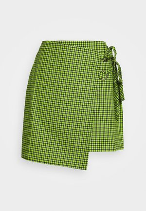 DUB SKIRT - Mini skirt - lime
