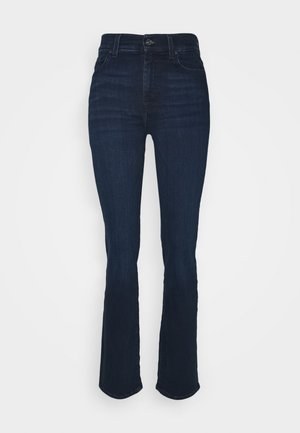 THE ILLUSION CODE - Straight leg jeans - dark blue