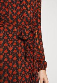 Fabienne Chapot - ISABELLA ISA DRESS - Kjole - black/rust - 4