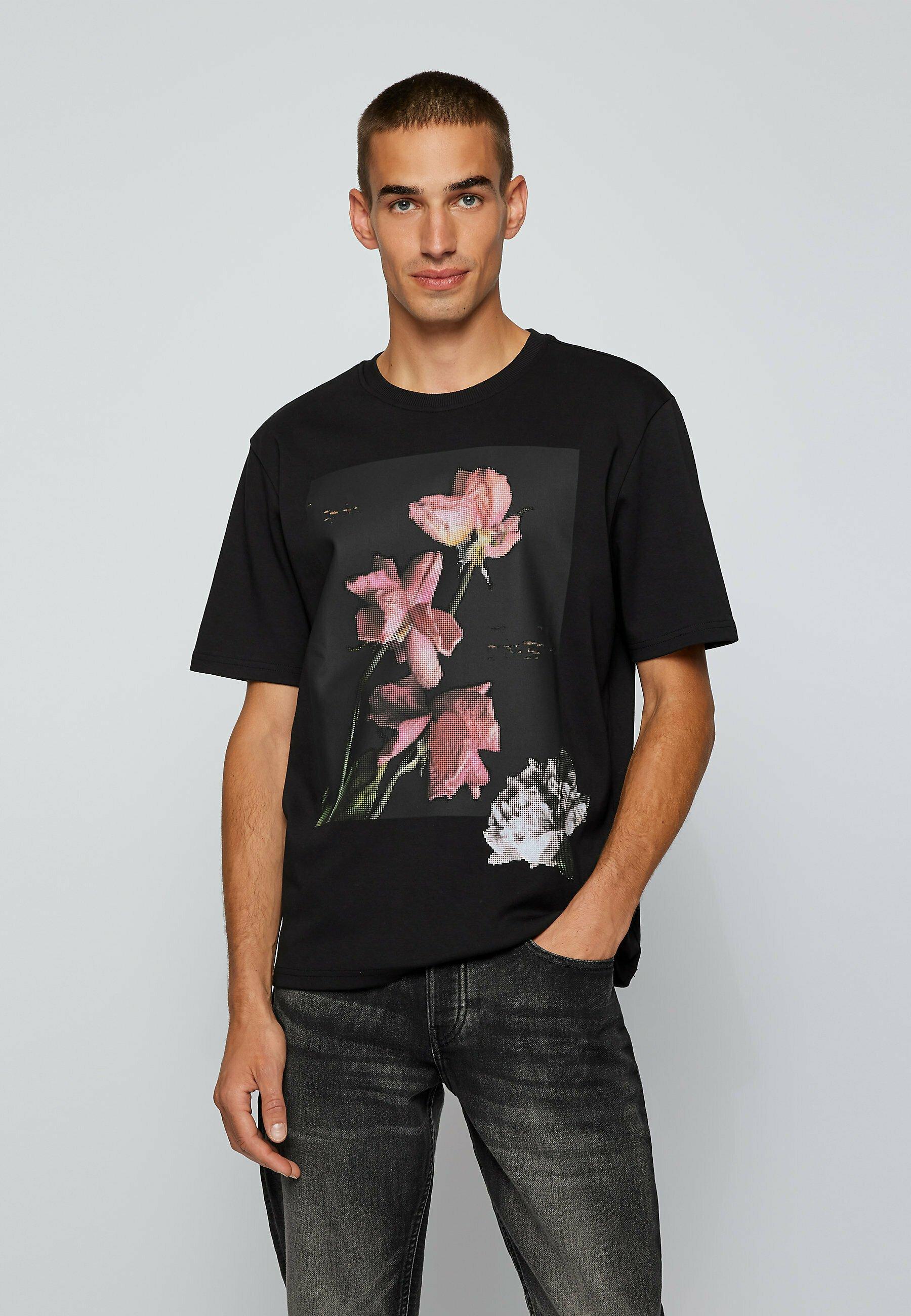 Men TFLOWER - Print T-shirt