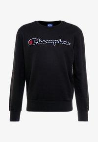 Champion - BIG SCRIPT LOGO CREWNECK - Sweatshirt - new black - 3