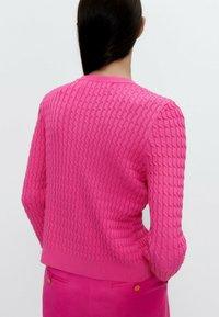 Uterqüe - Cardigan - pink - 4