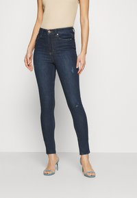 Marks & Spencer London - IVY - Jeans Skinny Fit - dark blue denim - 0