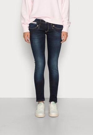 PIPER SLIM REUSED - Slim fit jeans - dull