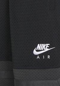 Nike Sportswear - AIR SHORT - Shorts - black/dark smoke grey - 2