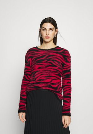 Jumper - pink/black