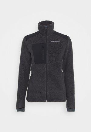 TROLLVEGGEN THERMAL PRO JACKET - Fleece jacket - dark grey